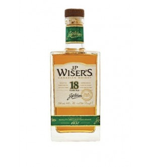 J.P Wiser's 18 Years Old Canadian Whisky 750ML