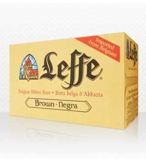 Leffe Brune 330mL fully Imported From Belgium(Case of 24)