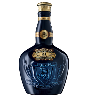 Royal Salute 21 Year Old Scotch Whisky 50mL Rare Sapphire blue