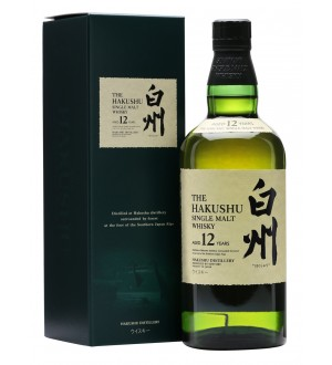 Suntory The Hakushu Single Malt 12 Years Old Japanese Whisky Distillers Boxed