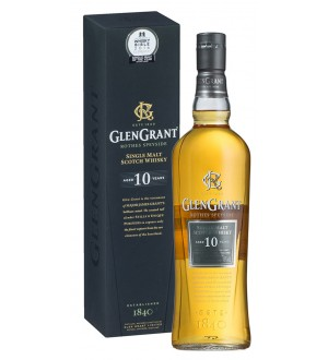 Glen Grant 10 Year Old Gift Box Best Single Malt Scotch 10 Years & Under
