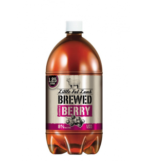 Little Fat Lamb Brewed Berry 8% 1.25L(Case of 12)