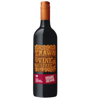Raw Organic Preservative Free Cabernet Sauvignon 2016