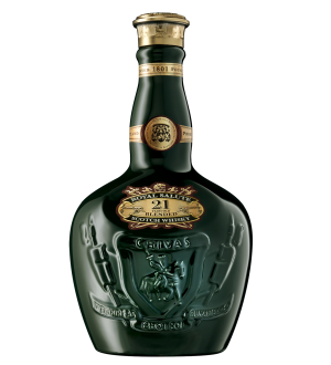 Royal Salute Scotch Whisky Emerald Ceramic Mini 50ml 21 Year Old Rare