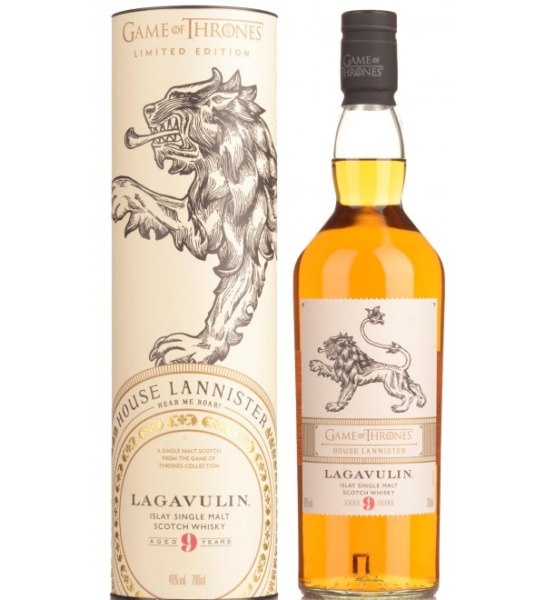 Game of Thrones Lagavulin Single Malt Whisky
