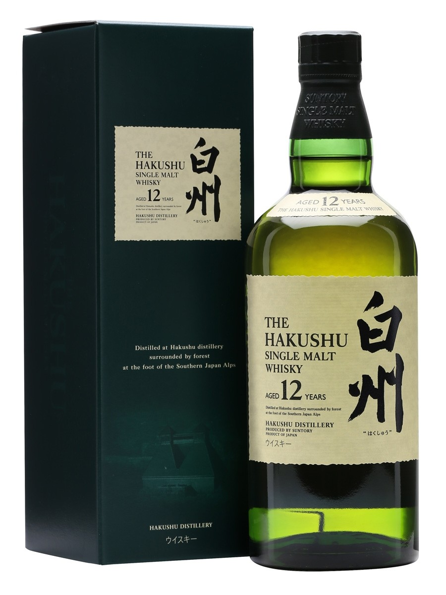 Image result for suntory whiskey hakushu