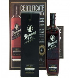 Bundaberg Rum Black Vat No. 26 2000 Limited Release Bottle No.10600