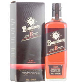 BUNDABERG RUM 2008 8 YEAR OLD