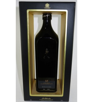 Johnnie Walker Black Scotch Centenary Edition 100 Years Of Striding Man