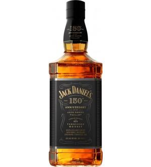 Jack Daniels 150th Anniversary Tennessee Whiskey Commemorative Bottle 700ML
