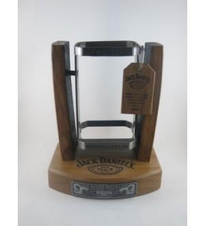 Jack Daniels 1ltr Bottle Limited Edition 2017 Wooden Swing Cradle numbered