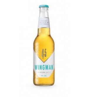 Wingman Premium Lager Beer (Case of 24)