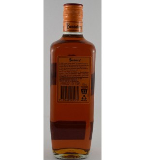 bundaberg Rum overproof crafted and distilled