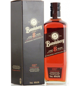 BUNDABERG RUM 2007 8 YEAR OLD