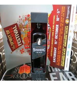 Bundaberg Rum Black Vat 244 Limited Release Boxed & A3 Poster Rare